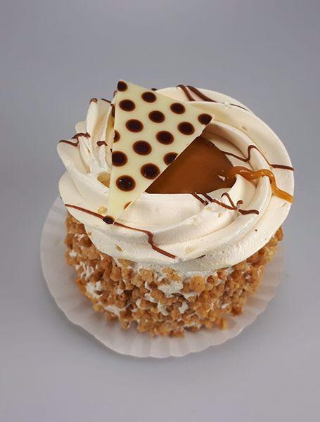 Afbeelding van Cremegebakje caramel